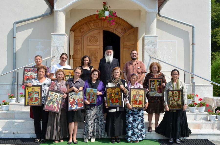Tabara de icoane - Manastirea Sf. Dimitrie Sighisoara - 23.08.2013