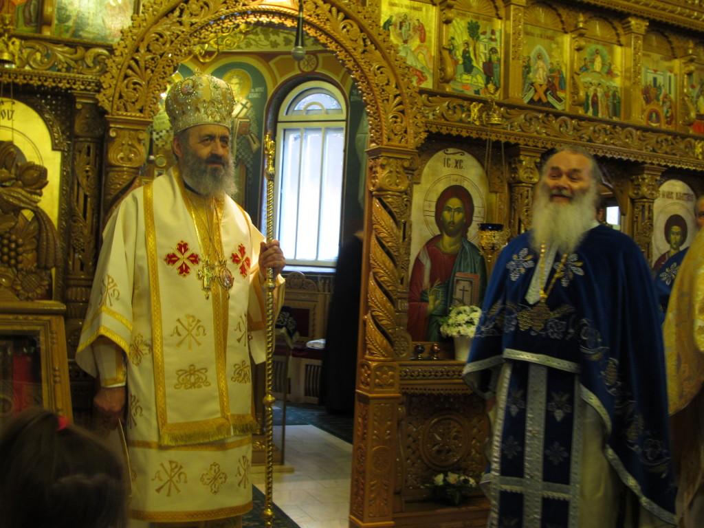 IPS Irineu & Pr. Arhim. Ghelasie - Manastirea Sighisoara - 23.02.2014