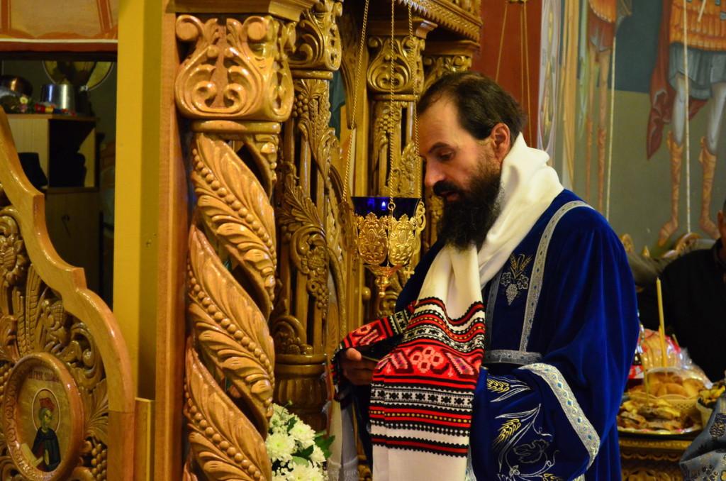 Ierodiaconul Arsenie - Manastirea Sighisoara - 23.02.2014